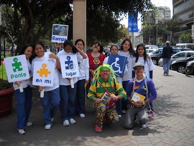 """Campaña """"Ponte en mi lugar, no en mi sitio"""", Municipalidad de Miraflores"""